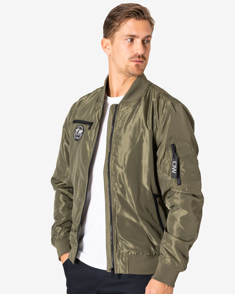 Lifestyle Bomber Jacket Army Green Men
