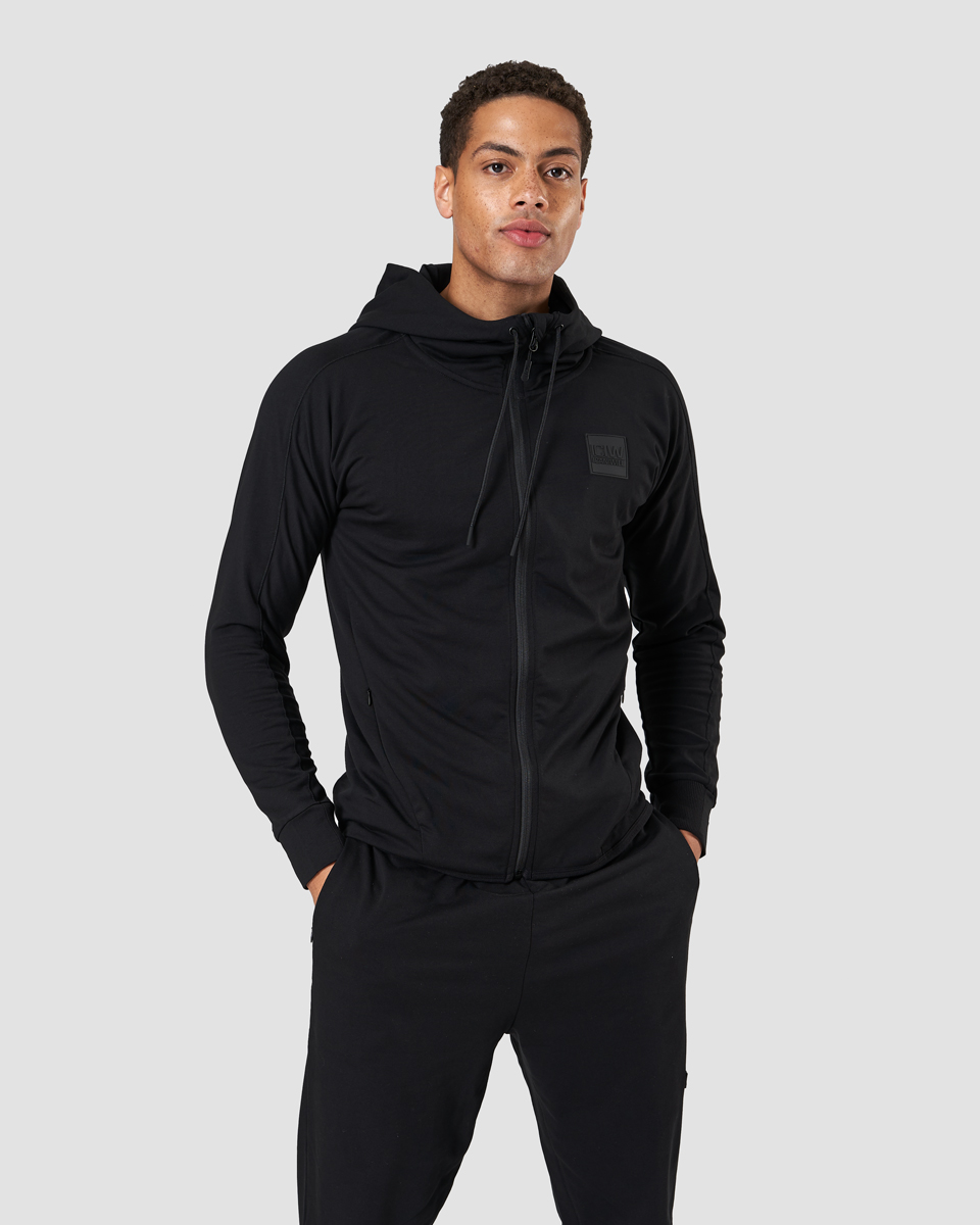 Activity Zip Hoodie Black Men