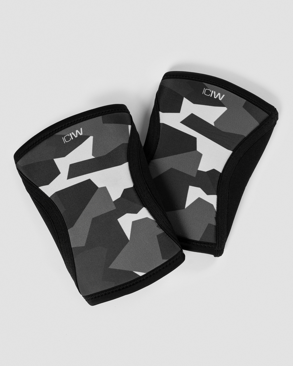 Knee Sleeves Black Camo