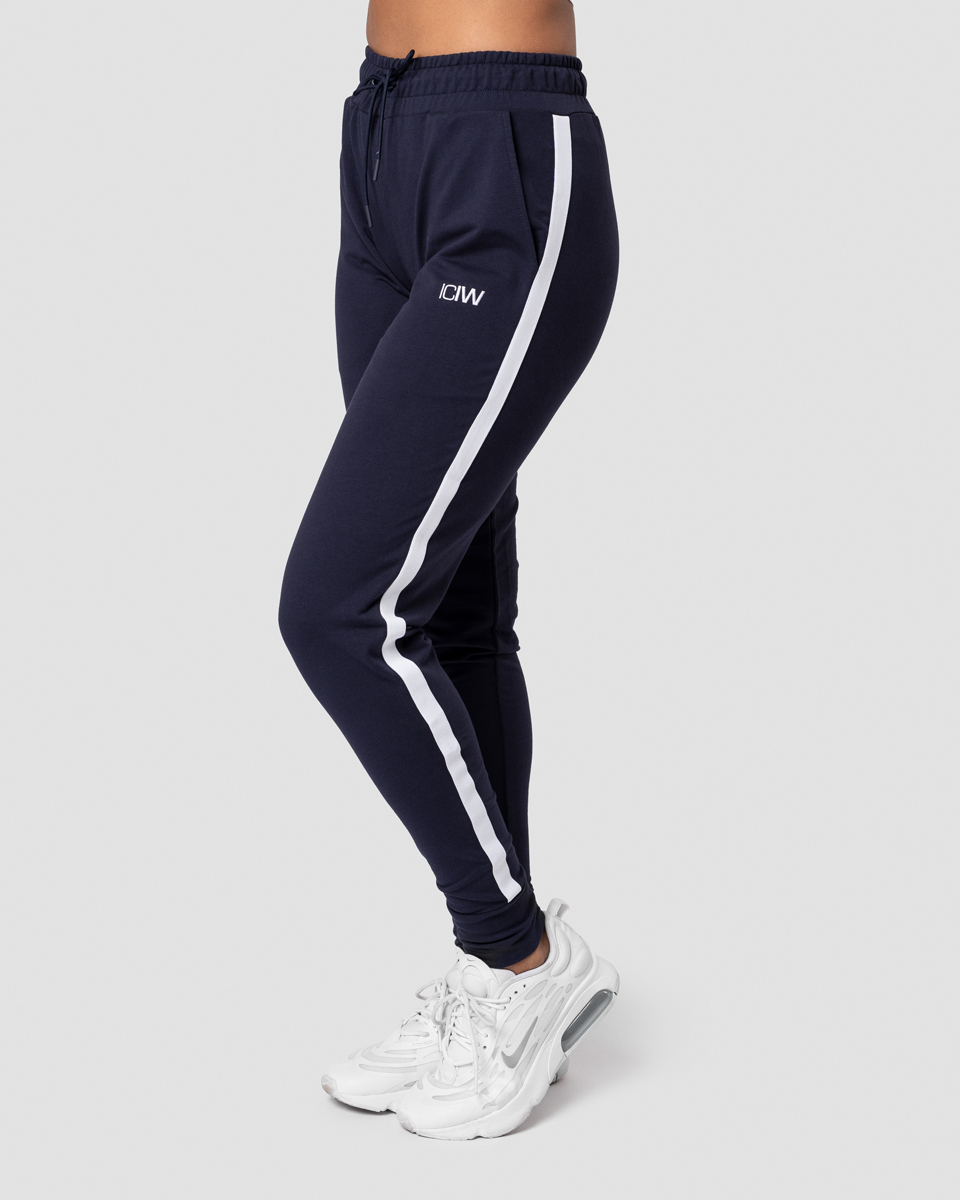 Activity Stripe Pants Navy Wmn