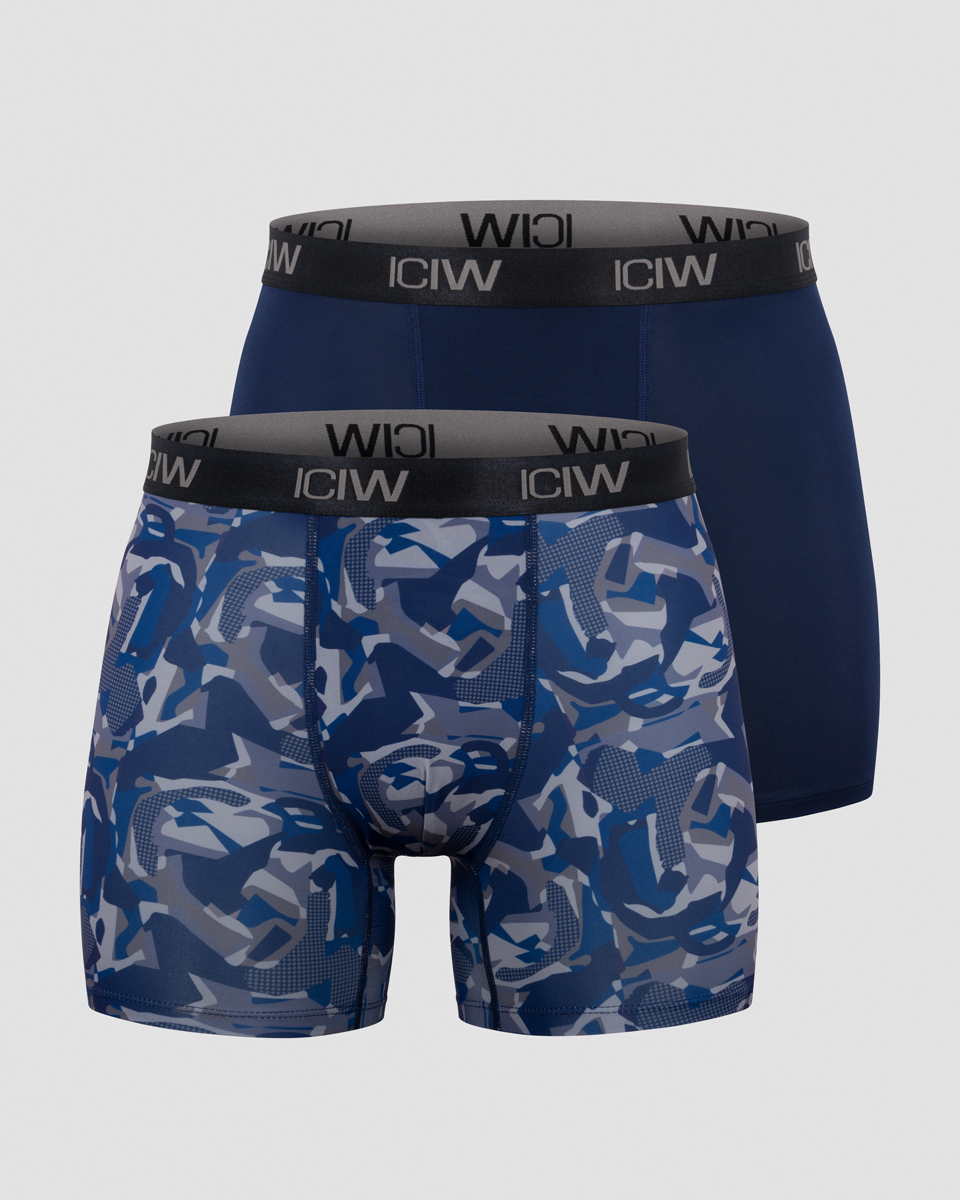 Sport Boxer 2-pack Navy/grey