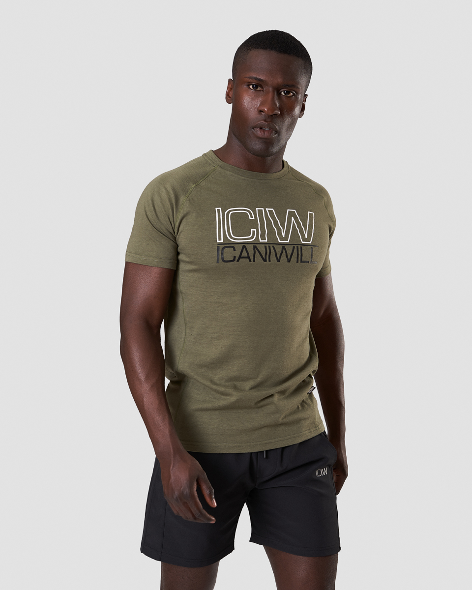 Workout Tri-Blend T-shirt Army Men